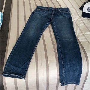"""Joes jeans straight leg sz 33 with 34"""" inseam"""